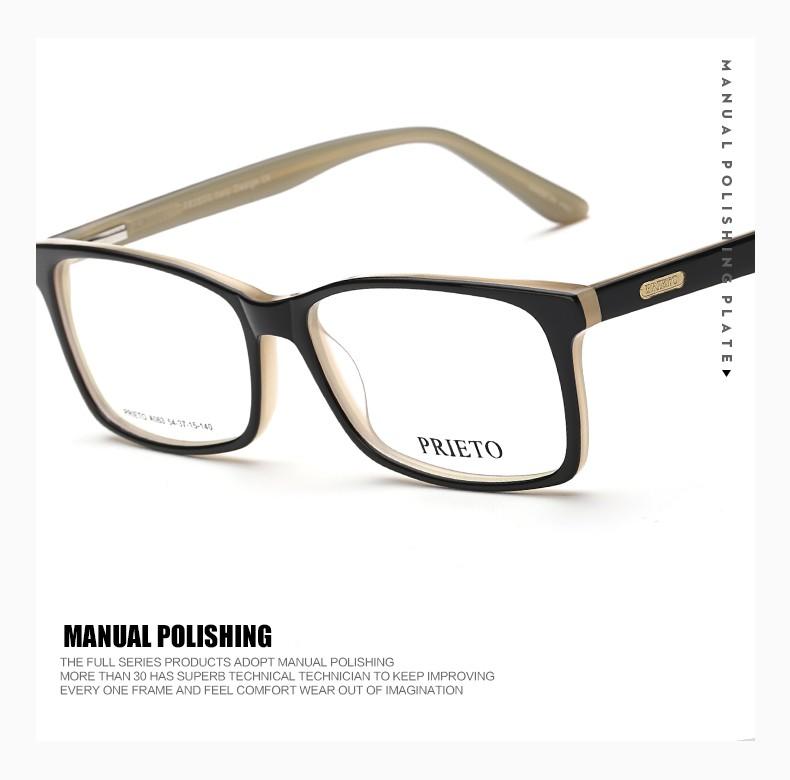 Prieto Brillen Neue Trend Brillenfassungen Teile Boz ...