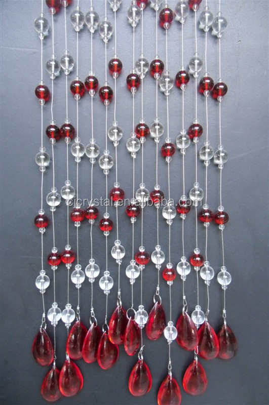 rideau de porte en verre perles rideau de perles de verre l 39 usinegarantie prix pour perles. Black Bedroom Furniture Sets. Home Design Ideas