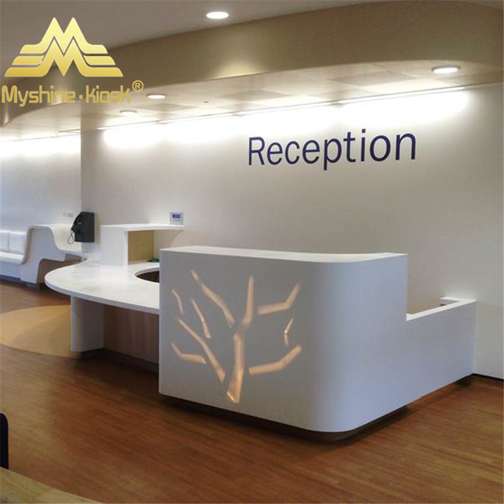 office reception. Brilliant Reception White High Glossy Paint Office Reception Desk Small Front  Buy  DeskSmall Round Product On  Inside R