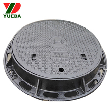 Heavy duty manhole cover <span class=keywords><strong>telaio</strong></span> e ghisa ghisa decorativa copertura fognaria
