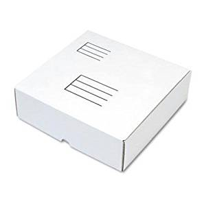 """Quality Park - 6 Pack - Die-Cut Fiberboard Ring Binder Mailer W/3 Binder Cap 12 1/4X 12X3-7/8 White """"Product Category: Envelopes Mailers & Shipping Supplies/Mailers"""""""
