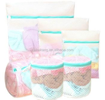 Polyester Nylon Washing Bag Mesh Socks Underwear Large And Medium Laundry Bags