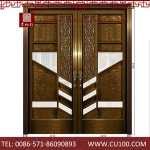 Excellent Material Security Exterior Doors Open Out