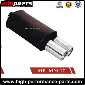 Universal Free Flow Performance 304 Stainless Steel Mufflers/Silencer