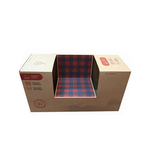 Wholesale custom made cheap offset full color printing cardboard shoe paper box packaging in China