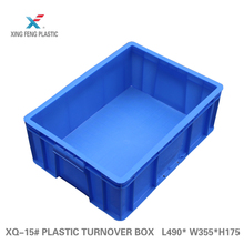 Custom printed kitchen plastic container industry transparent tote box industrial crates