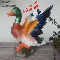 sensor motion duck resin electronic animal call