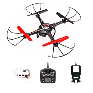 JJRC V686G V686 5.8G FPV Headless Mode RC Quadcopter With HD Camera Monitor