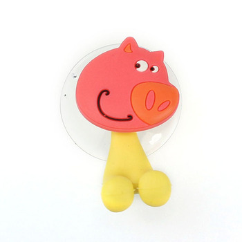 Cartoon toothbrush holder Plastic silicone kids Tooth brush holder