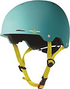 Triple 8 Gotham Baja Teal Rubber Large / X-Large Skateboard Helmet - CE/CPSC Certified