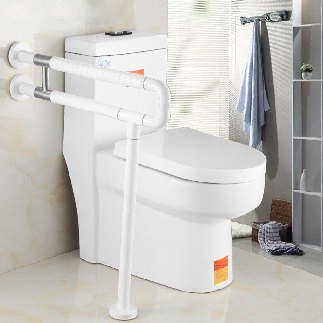 Buy BBSLT Basin handrail nylon leg safety handrail toilet toilet ...