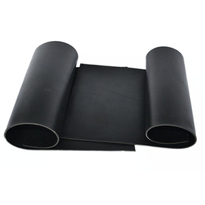 black color good quality heat resistant SBR rubber mat from china factory