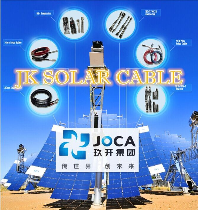 JK solar power cable Armoured tinned cooper 4mm 6mm 10mm TUV UL CE CSA VDE IEC
