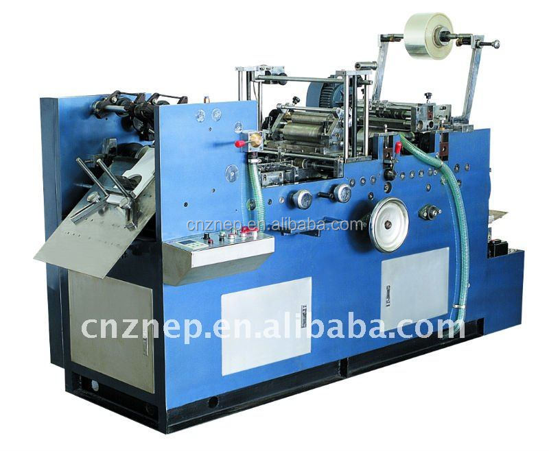 ZNTM-385 Low Cost Automatic Envelope Windowing Film Sticking Machine