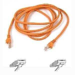 "Belkin, Patch Cable Rj-45 (M) Rj-45 (M) 6 Ft Utp Cat 5E Orange For Omniview Smb 1X16, Smb 1X8, Omniview Ip 5000Hq, Omniview Smb Cat5 Kvm Switch ""Product Category: Supplies & Accessories/Network Cables"""