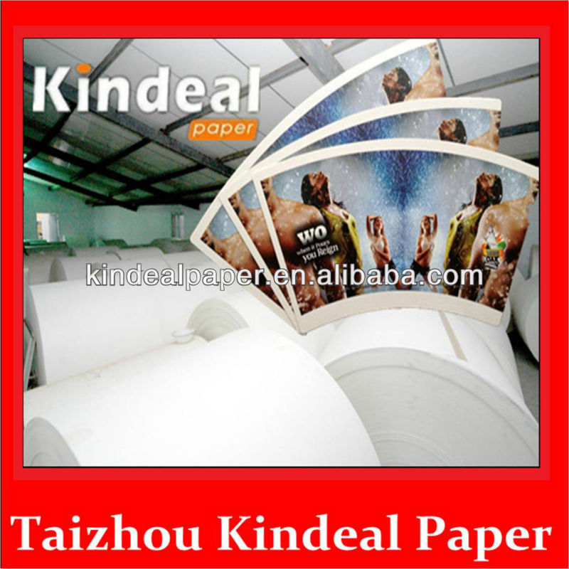Paper Film PE Laminating Single PE Laminated Coated Raw Materials Paper for Cup 250g Cup Paper 10g PE for making cup in Roll