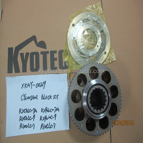 CYLINDER BLOCK KIT FOR XKAY-00219 R250LC-7A R290L;C-9 R305LC-7