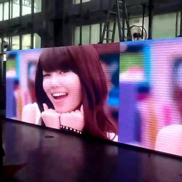P10 led scrolling message board