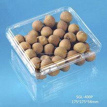 plastic food fruit packaging container