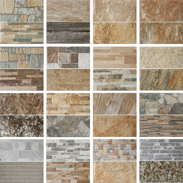 Exterior Wall Tiles Designs Indian Houses Single Floor: 200x400mm Hot Sell Decorative Cheap Outer Cobblestone
