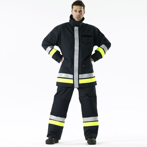 china wholesale professional firefighter safety suit