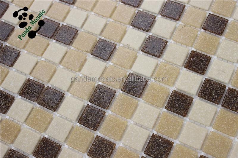 Mozaiek Badkamer Goedkoop : Mb smh19 foshan mozaïek prijs groothandel bruin glasmozaïek goedkope