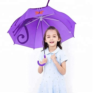 Cat Umbrella for Children Golf Umbrella Easy Open Safety Close for Boys and Girls, Windproof Rainproof Umbrella with Child-siz