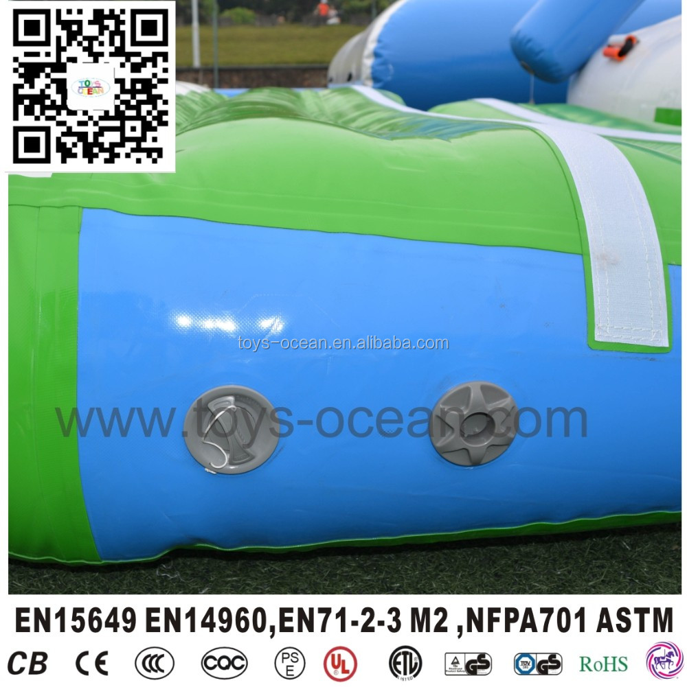 Inflatable Water Park Floating Water Games Aqua Park Obstacle