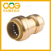 Lead Free Brass Push Fit Fittings Tee 1/2