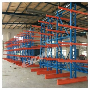 Metal Slide Adjustable Storage Shelf Industrial Sheet Pallet Racking I Beam Cantilever Rack