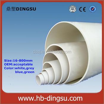 25mm Diameter Pvc Plastic Pipe Schedule 40 White - Buy White 25mm Pvc  Pipe,25mm Dia Pvc Pipes,Plastic Electrical Conduit Product on Alibaba com