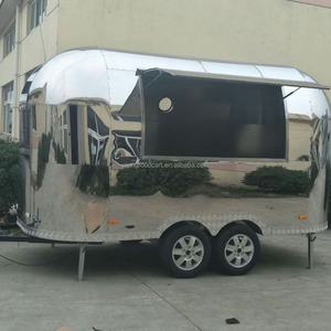 Yiying Fully Stainless steel Airstream Food Cart Trailer YY-BT400 For Sale