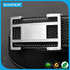 New Products 2017 Innovative Product Men Leather Interchangeable Buckle Belt