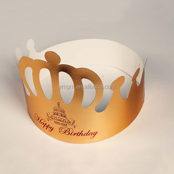 Party Paper Crown Birthday Hats For Adults And Kids