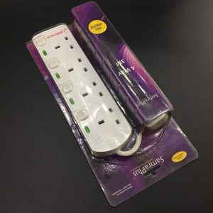 YiWu No.13 way outlet uk standard extension socket with wire and switch