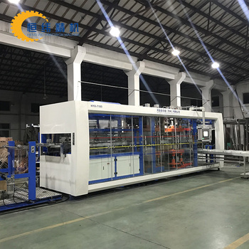 PP food packaging box thermoforming machine price