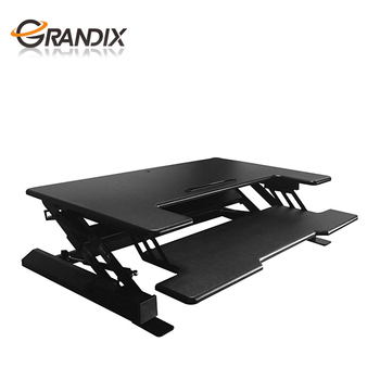 Heightadjustable Custommade Standing Work Tables Up Sit Stand - Standing height work table