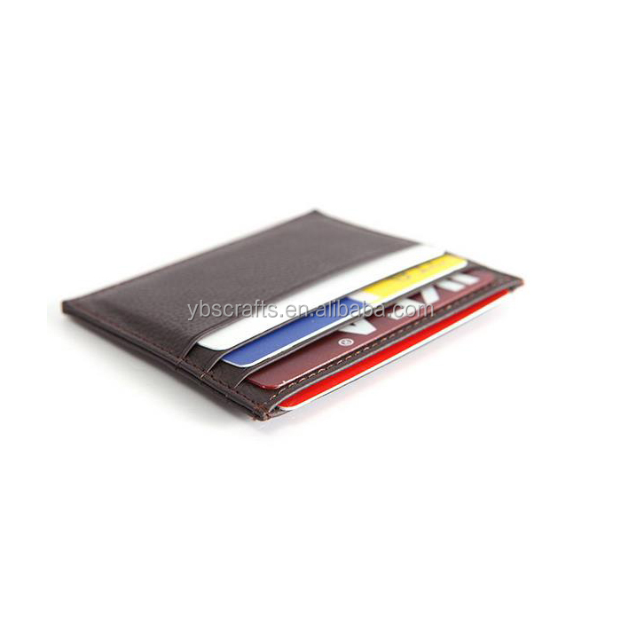 Men's card holder leather /small ultrathin business card case/ card wallet