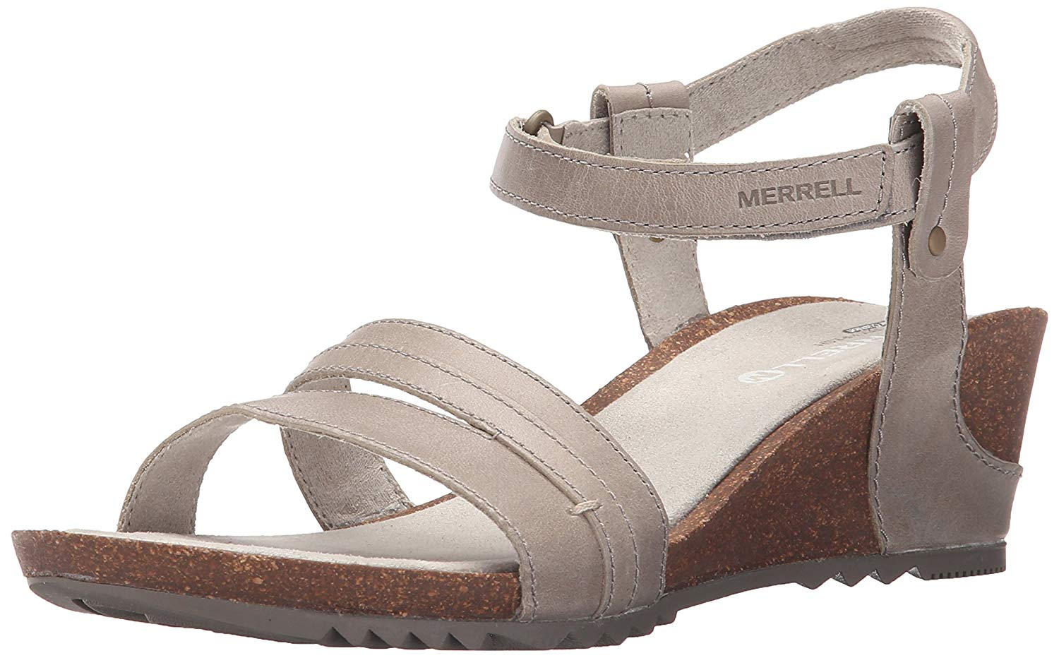 aab8ec588c8 Get Quotations · Merrell Women s Revalli Aura Strap Wedge Sandal