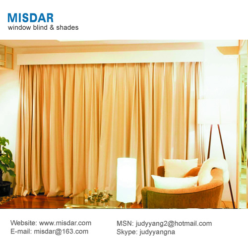 Drapery curtain, window curtain, blackout curtain