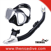 Best quality Thenice Full dry travelling diving equipment snorkel set