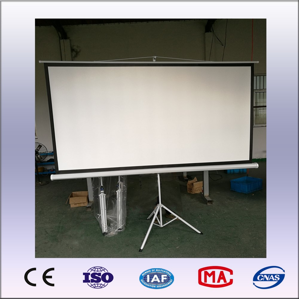120 inch 150 inch 4:3 16:9 1:1 projection projector screen portable indoor / outdoor tripod screen