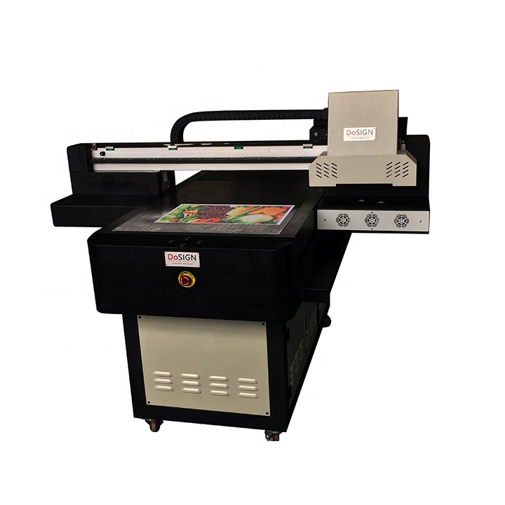 High resolution A1 Size digital inkjet direct to substrate 6090 UV flatbed  printer 20506c3bb6