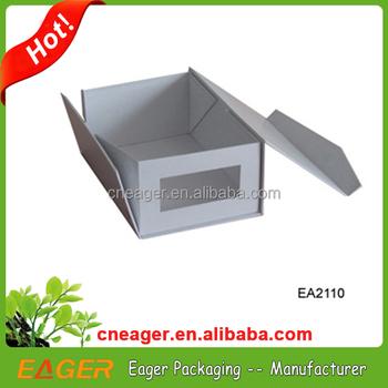Merveilleux With Clear Window Decorative Cardboard Shoe Storage Box
