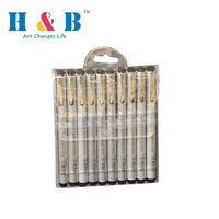 HB technical waterproof fine line painting pen for engineering drawing