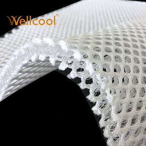 Perfectly cool mattress and pillow padding material 7mm thickness 3d fabric mesh