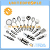 Home Cooking 15-Pcs German Stainless Steel Kitchen Utensils Their Uses
