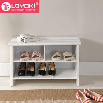 Mejor Muebles Para El Hogar De Madera Mdf Zapato Almacenamiento ...