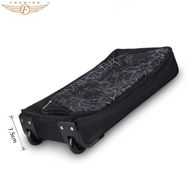b35041111ab7 High Quality Fashionable Waterproof Expandable Wheeled 20 Inch Rolling  Duffle Bags
