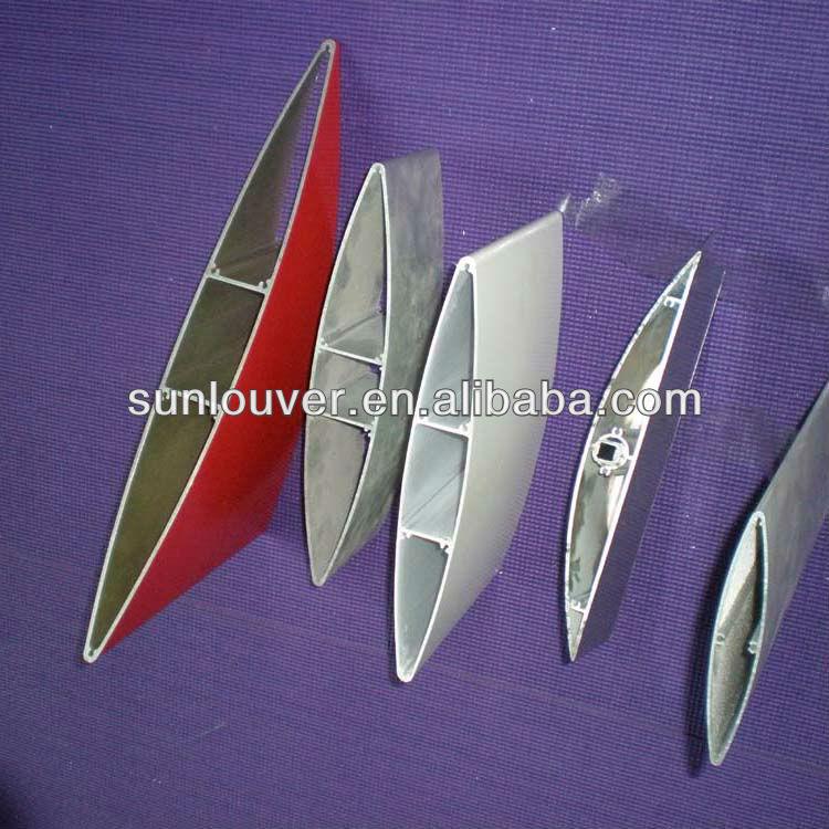 Aluminum Rectangular Profile   Rectangle Profile For Facade Louver ...